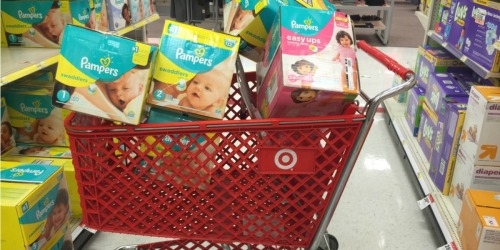 4 New Pampers Coupons = Super Packs Just $17.79 Each at Target After Gift Card
