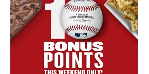 Papa John's Rewards Members: Possible 10 Free Bonus Points This Weekend Only (Check Inbox)