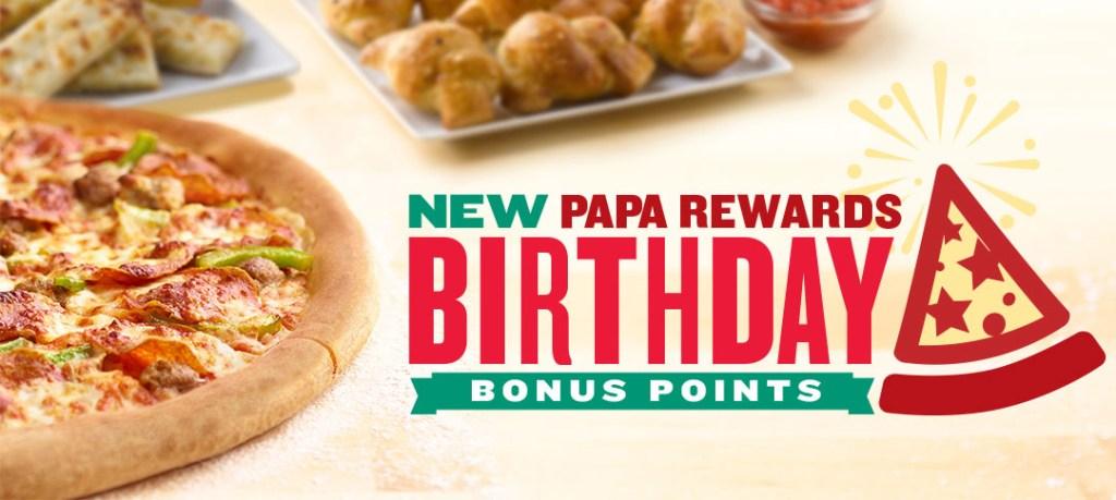 Papa Johns Rewards