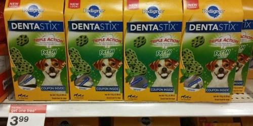 Target Shoppers! 50% Off Pedigree Dentastix