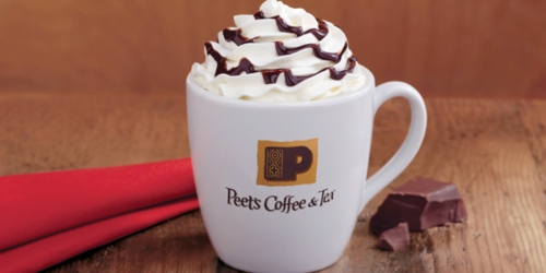 Peet's Coffee: 50% Off ANY Handcrafted Beverage