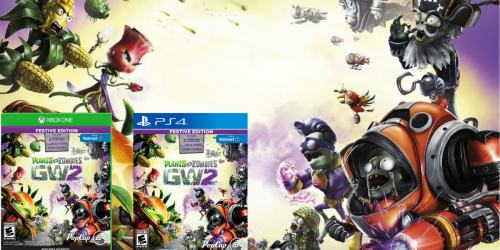 Plants vs. Zombies Garden Warfare 2 Festive Edition PlayStation 4 & Xbox One Games Only $19.96