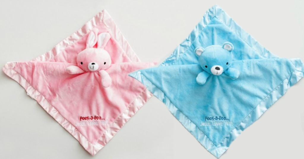 Plush Security Baby Blankets