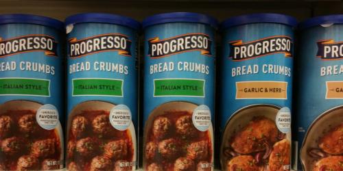 Target: Progresso Bread Crumbs Only $1.25