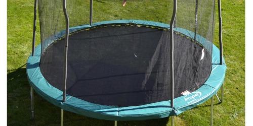 Sears: 12′ Trampoline w/ Enclosure, Ladder AND Mister Kit Only $169.99 (Regularly $349.99+)