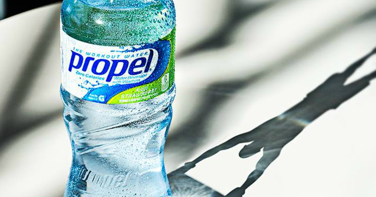 Propel water bottle