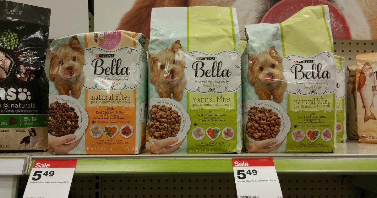 walmart bella dog food