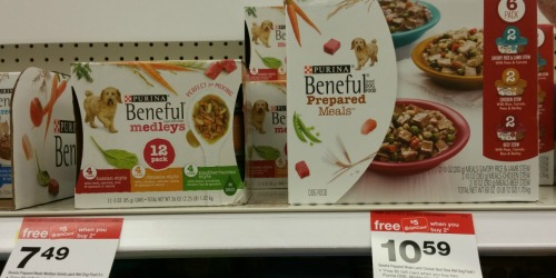 Target: Purina Beneful Medleys 12-Pack Only $3.49 (After Gift Card) – Reg. $7.49