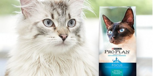 New $5/1 Purina ProPlan Cat Food Coupon – Valid on ANY Size & ANY Formula
