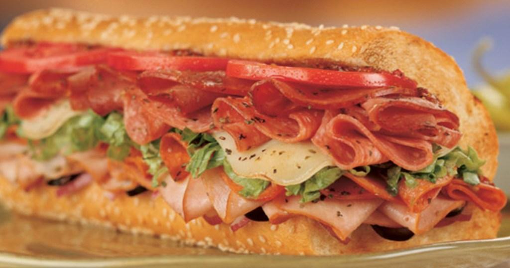 quiznos sandwiches