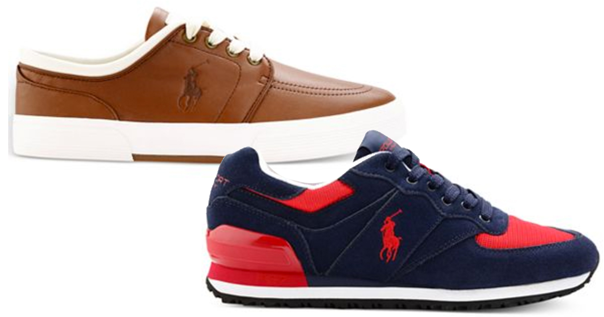 Ralph Lauren Sneakers $29.50 Each