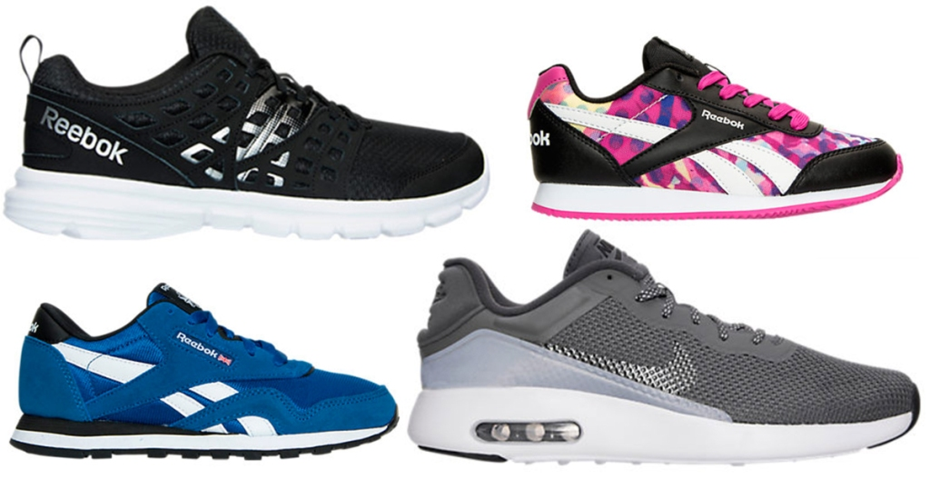 new concept d5cd2 e6d25 Finish Line: Men's Air Nike Max Running Shoes Only $49.98 ...
