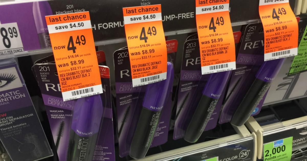 Revlon Lipstick Only 0 54 At Target: Walgreens: Revlon Mascara, Eyeshadow & More Under $2.50