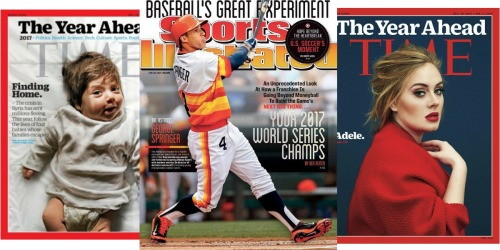 FREE Magazine Subscriptions to Sports Illustrated, TIME, People & More