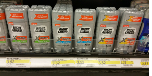 Target: Right Guard Deodorant & More UNDER $1 Each After Gift Card (Starting 4/23)
