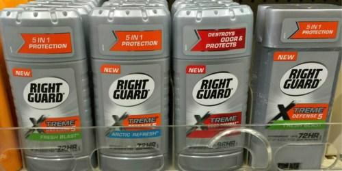 *NEW* $3.50/2 Right Guard Xtreme Deodorant Coupon = Over 50% Savings at CVS & Walgreens