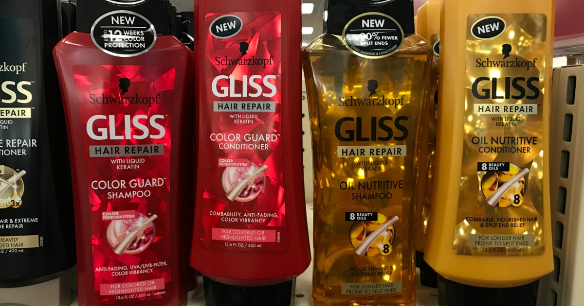 GLISS HAIR CARE COUPONS