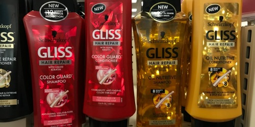 CVS: Schwarzkopf Gliss Hair Care Products Just $3 -Regularly $6.99 (After Rewards)