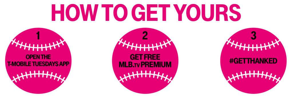 T-Mobile Customers: FREE MLB TV Premium Subscription ($112+ Value