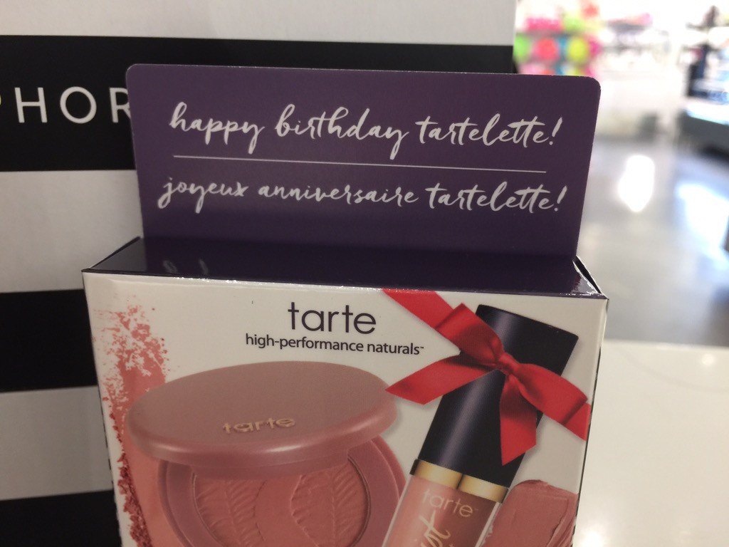 Sephora Birthday