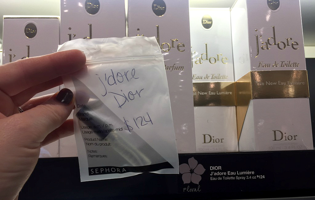 Sephora Perfume Sample