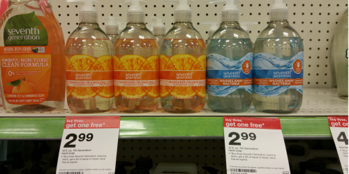 Target: Seventh Generation Hand Soaps Only $1.87 Each + Cheap Dish Soap & More