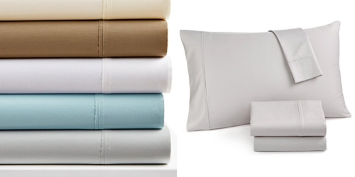Macy's: 4-Piece 1400 Thread Count Queen Sheet Sets Only $49.99 Shipped (Regularly $200)