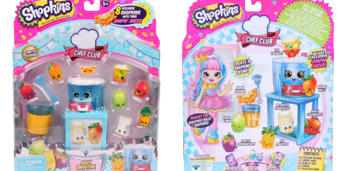 Shopkins Chef Club Juicy Smoothie Collection Only $9.08