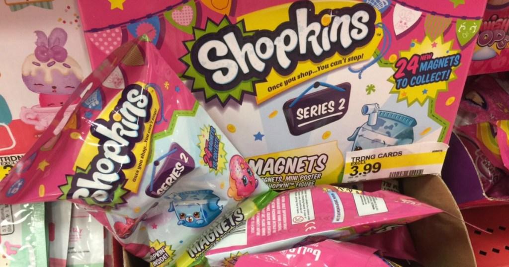 Shopkins Magnet Cards