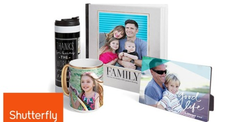 Gymboree Email Subscribers: Possible $20 Off ANY $20 Shutterfly Purchase (Check Inbox)