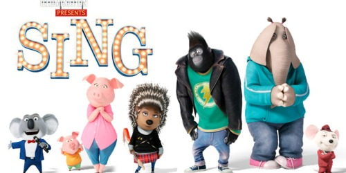 BestBuy.com: Sing Blu-ray/DVD/Digital HD Combo Only $19.99 (Reg. $24.99) + FREE Sing Lunchbox