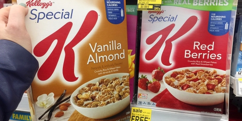 Walgreens: Special K Cereal ONLY $1.33 Per Box (Regularly $4.29)