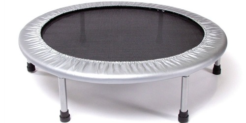 Folding Exercise Trampoline ONLY $18.66