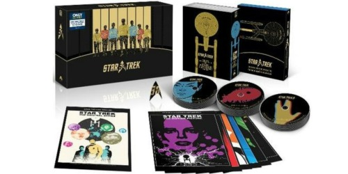 Star Trek 50th Anniversary Blu-ray TV & Movie Collection Only $79.99 Shipped (Reg. $149)
