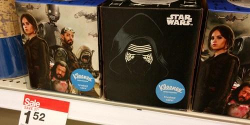 Target: Star Wars Kleenex Tissues Only 96¢ Each