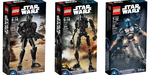 Great Deals On LEGO Star Wars Sets = Imperial Death Trooper 106-Piece Set Only $17.77 & More