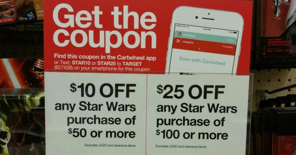 Star Wars Target Offer