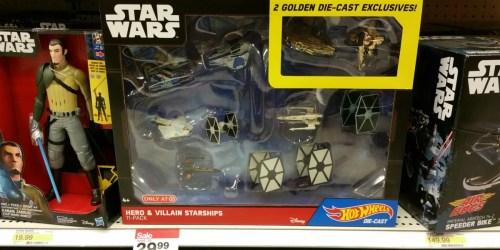 Target: Hot Wheels Star Wars Starship 11 Figure Pack as Low as $12.99 (Regularly $49.99)
