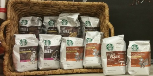 Target.com: Starbucks Coffee ONLY $3.39 Per Bag Shipped After Gift Card (Regularly $7.99)