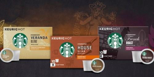 FREE Starbucks K-Cups Sample Pack