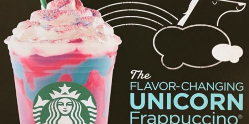 Yes, It's True! Score a Starbucks Unicorn Frappuccino Starting April 19th