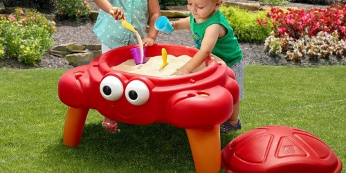 Kohl's Cardholders: Step2 Crabbie Sand Table Only $25 Shipped (Regularly $43)