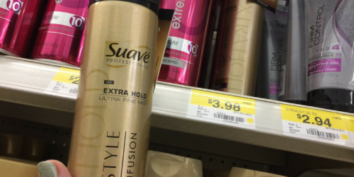 Walmart: Suave Gold Hairspray ONLY $1.98