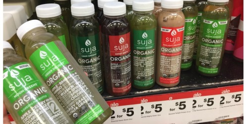 Target: Suja Organic Juices ONLY 50¢ + More