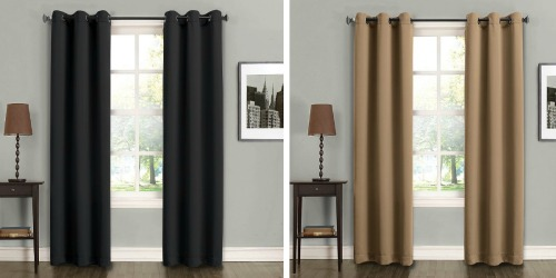Kohl's: 2-Pack Sun Zero Fulton Energy Efficient Curtains Only $8.49 (Reg. $49.99)