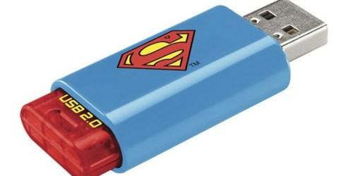 Best Buy: Emtec Superman 8GB USB 2.0 Flash Drive Only $3.99 (Regularly $7.99)