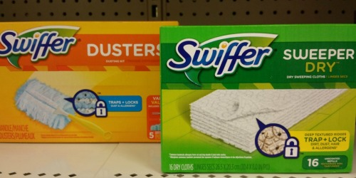 $14 Worth of New Swiffer Coupons = Wet or Dry Refills Only $1.99 at Rite Aid (Starting 4/30) + More