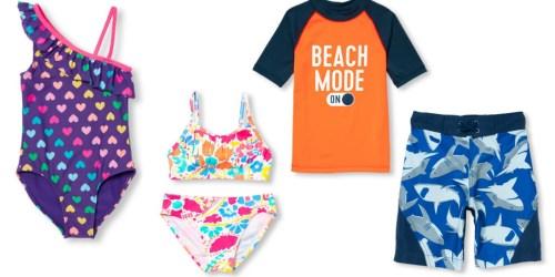 The Children's Place: Girls & Boys Swimwear Starting at $7.98 Shipped