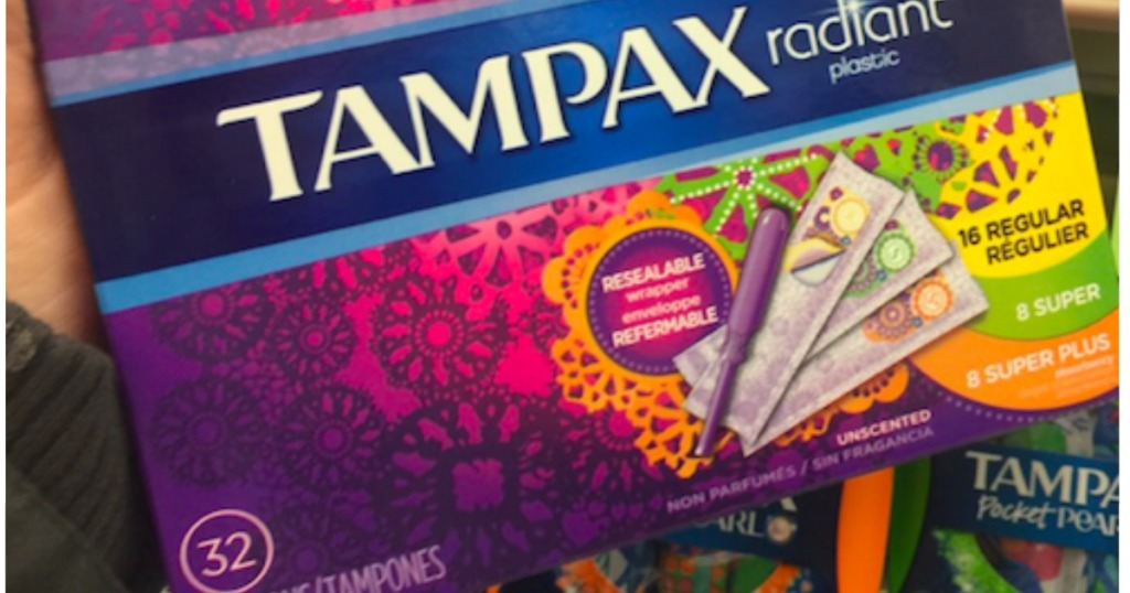 TWO New $3/2 Always & Tampax Feminine Care Coupons +