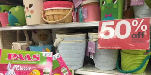 Target Shoppers! 50% Off Easter Clearance